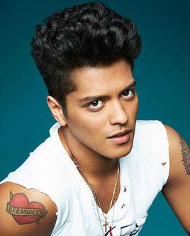 Bruno Mars的个人空间