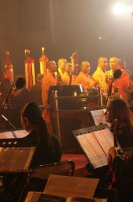 佛教音乐的个人空间
